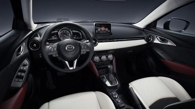 2015 Mazda CX-3 İç Tasarım