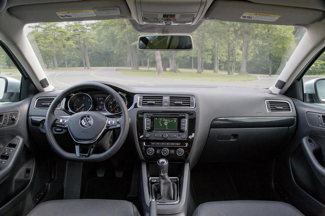 2015 Model Volkswagen Jetta İç Tasarım