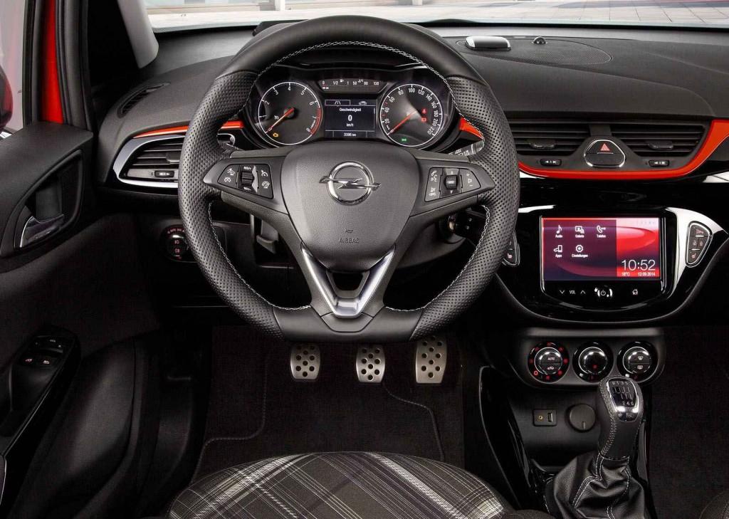2015 Opel Corsa İç Tasarım