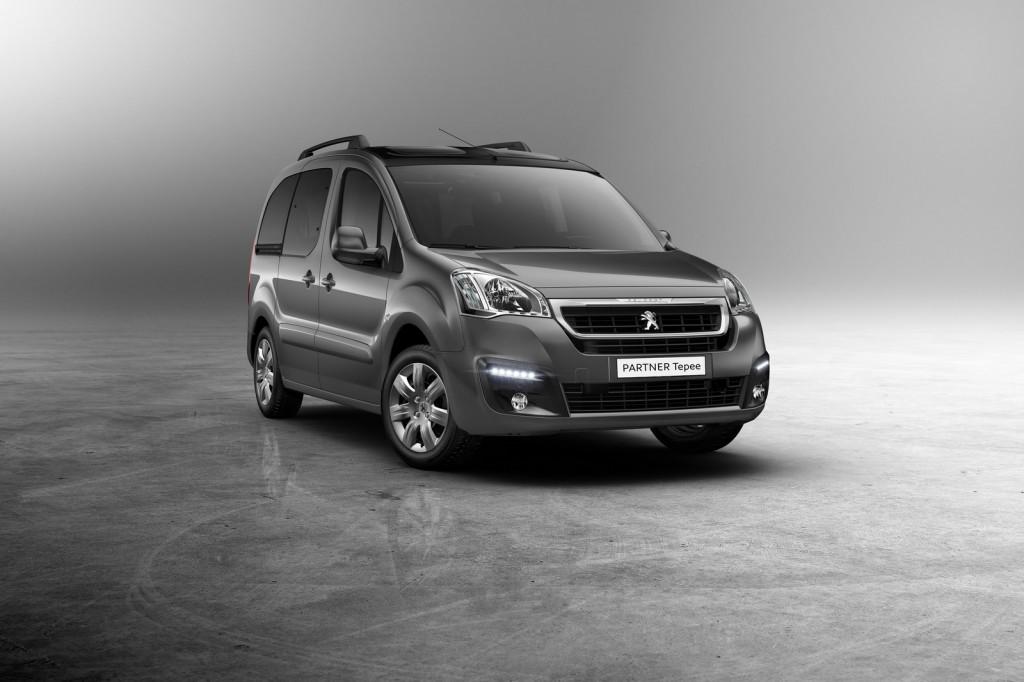 2015 Peugeot Partner Tepee Renk Seçenekleri