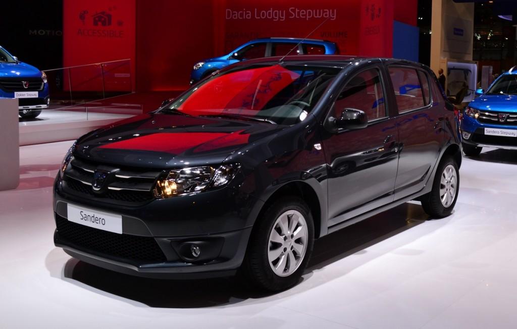 2015 Dacia Sandero Black