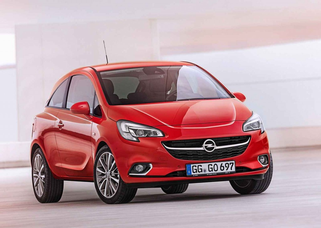 Yenilenen 2015 Opel Corsa