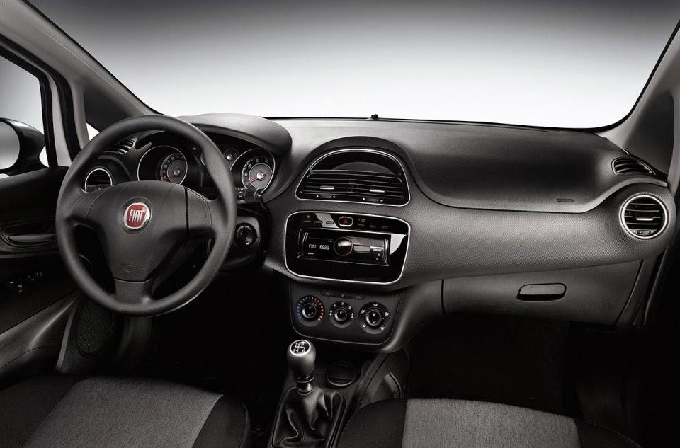 2015 Fiat Punto İç Tasarım
