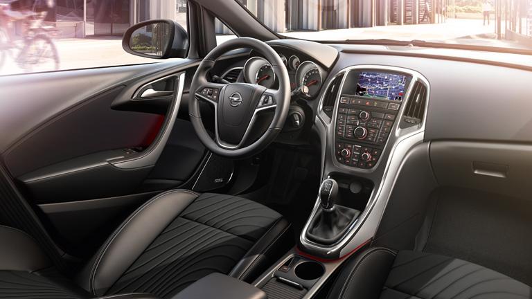 2015 Model Astra HB İç Tasarım