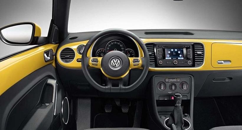2015 Volkswagen Beetle İç Tasarım