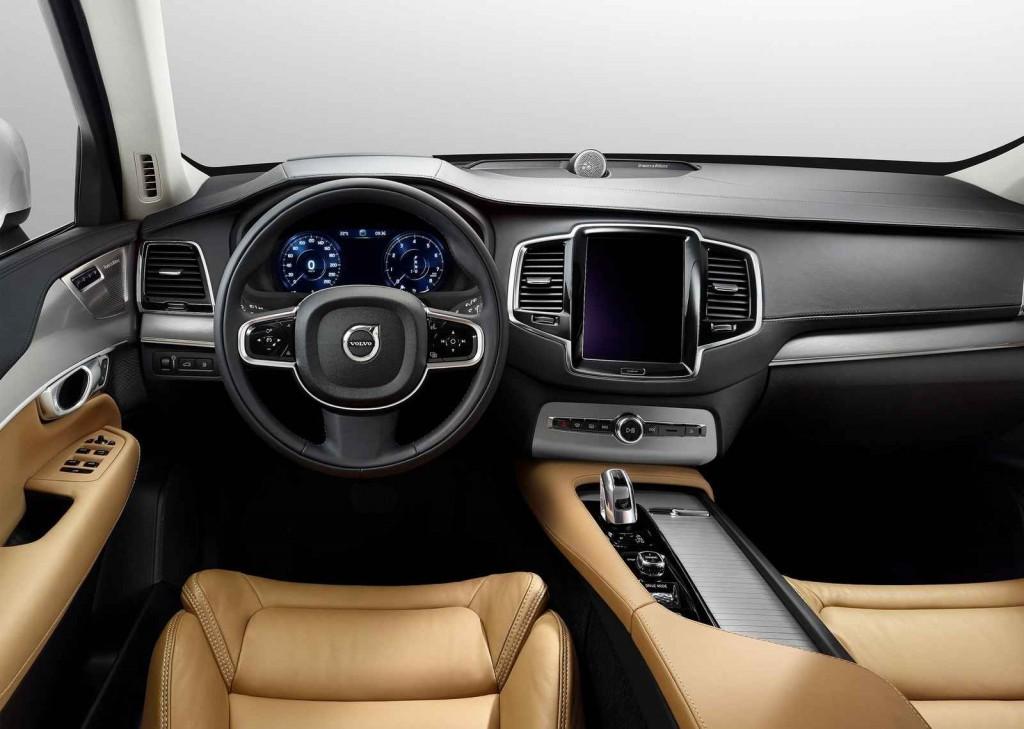 2015 Volvo XC90 İç Tasarım