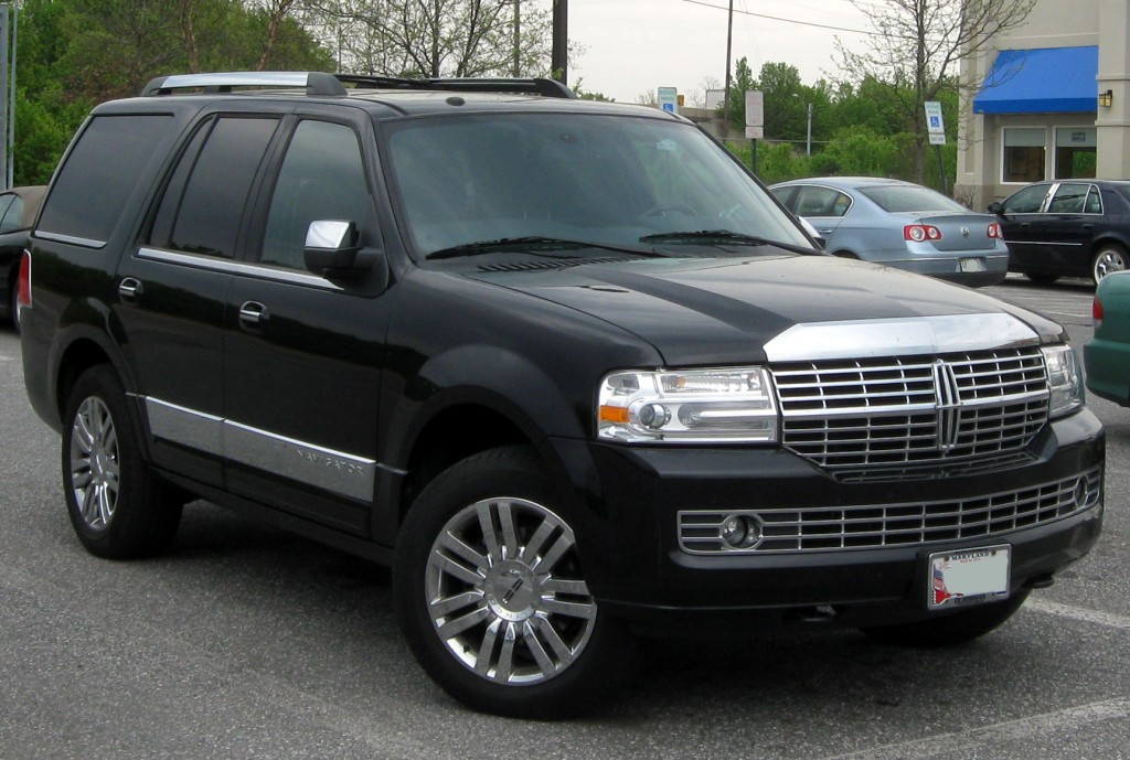 Full-Size SUV Segmenti Otomobil Lincoln Navigator