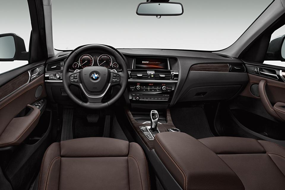 2015 BMW X3 İç Tasarım