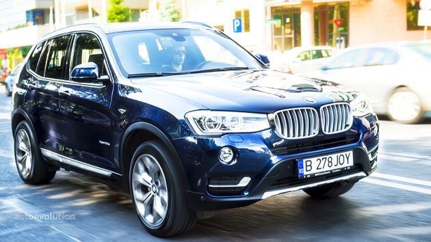 2015 BMW X3 Renk Seçenekleri