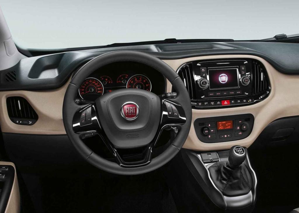 2015 Fiat Doblo Panorama İç Tasarım