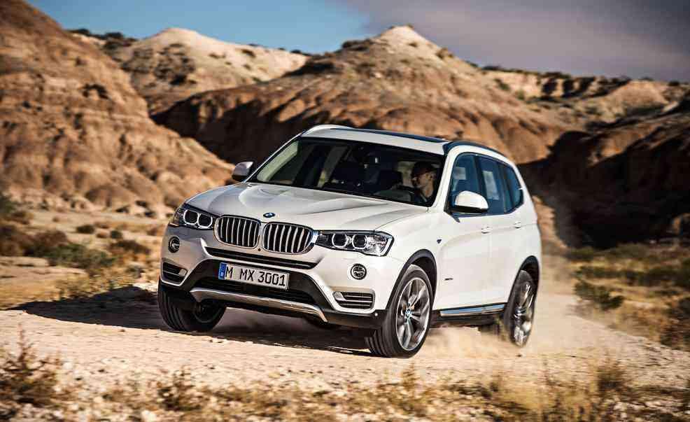 2015 Model BMW X3