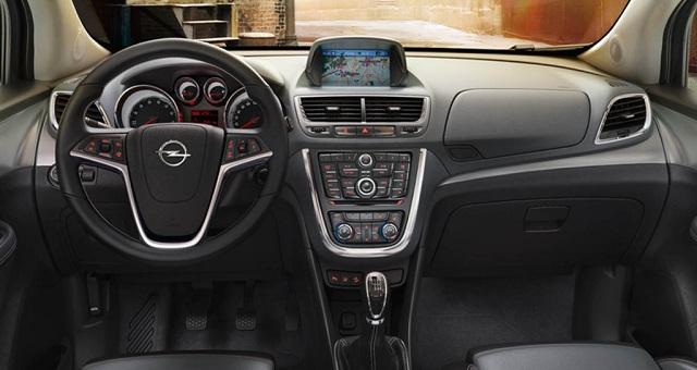 2015 Opel Mokka İç Tasarım