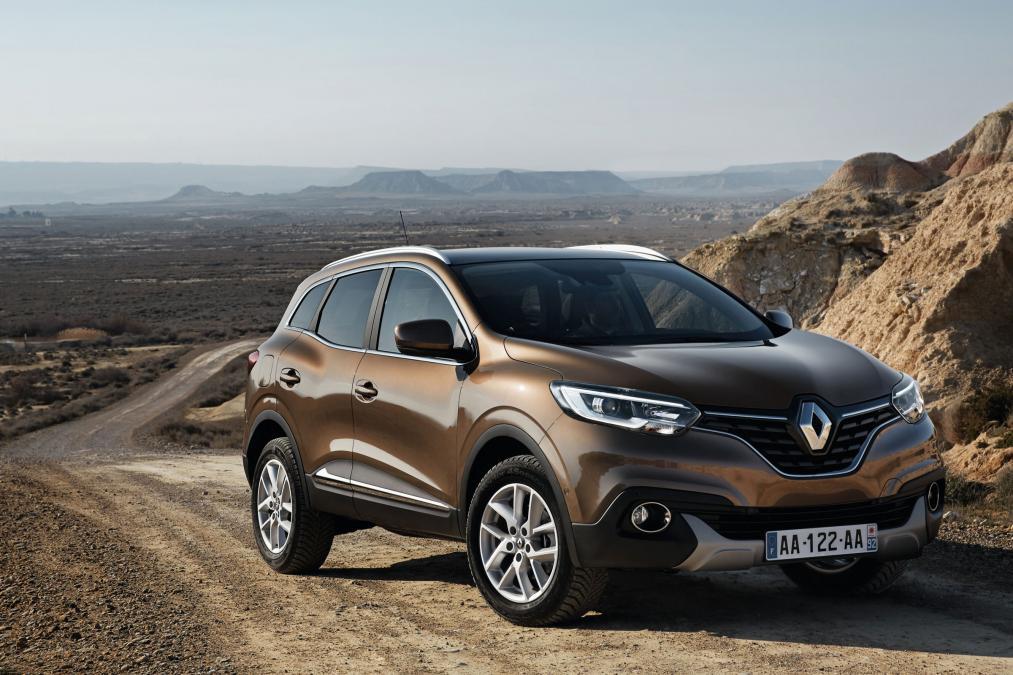 2015 Renault Kadjar Renk Seçenekleri