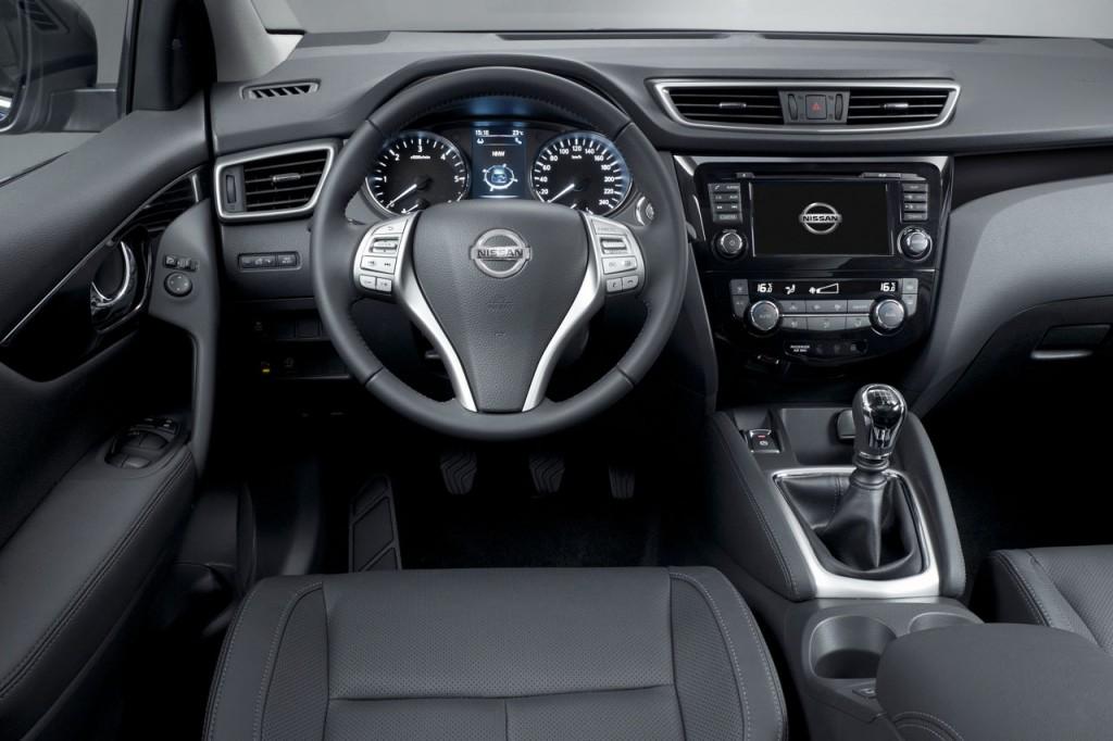 2015 Nissan Qashqai İç Tasarım