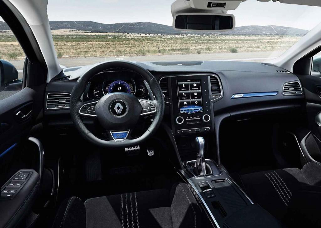 2016 Renault Megane 4 İç Tasarım