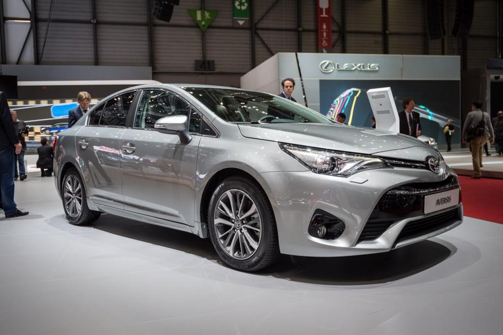 2015 Model Toyota Avensis