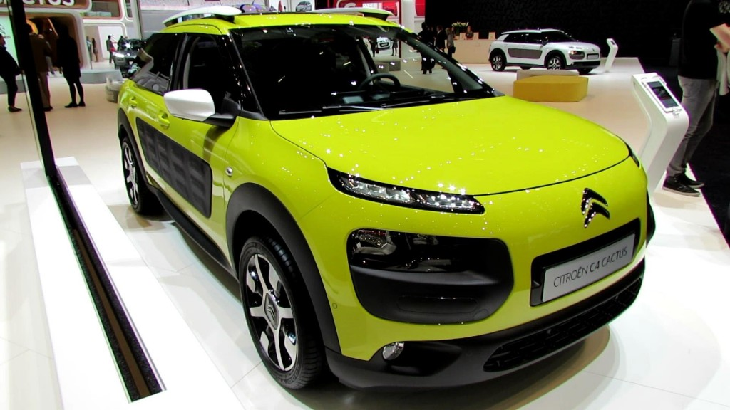 2015 Citroen C4 Cactus Renk Seçenekleri