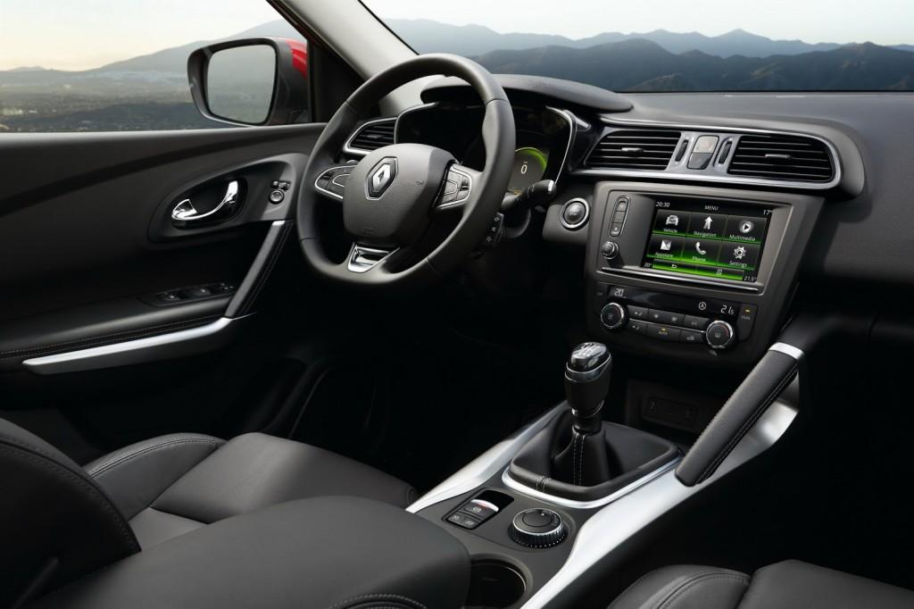 2015 Renault Kadjar İç Tasarım