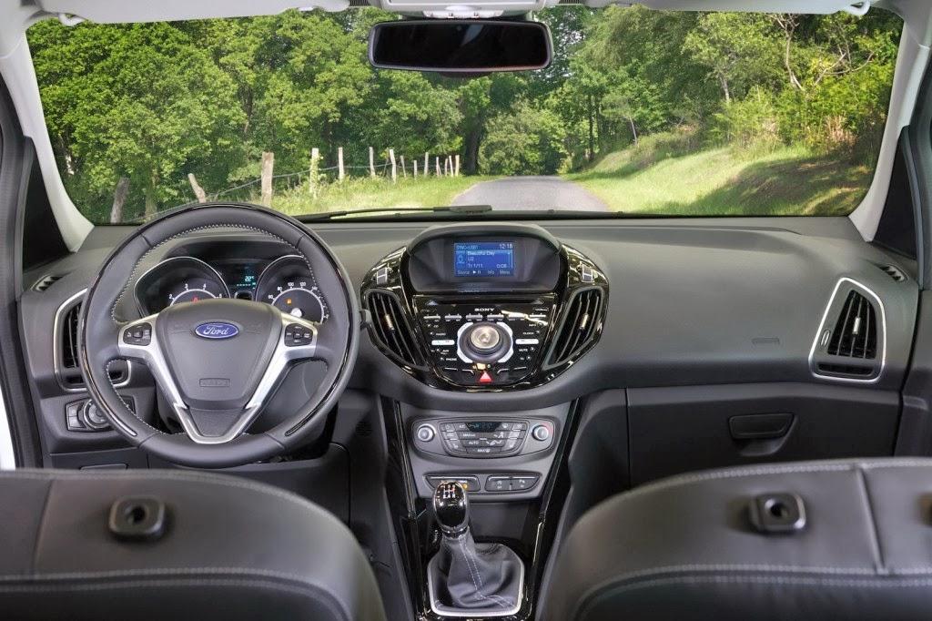2015 Ford B-Max İç Tasarım
