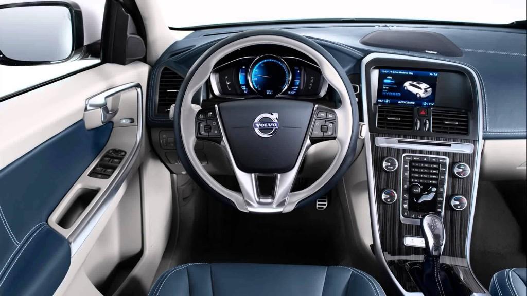 2015 Volvo XC60 İç Tasarım