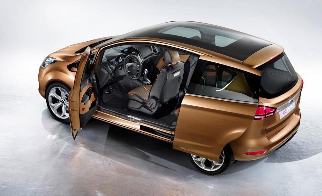 Mini MPV Segmenti Ford B-Max
