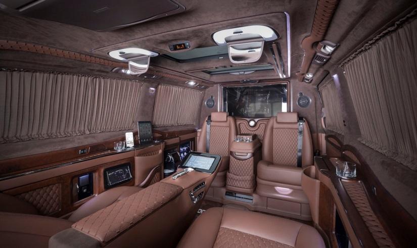 Mercedes Viano İç Tasarım