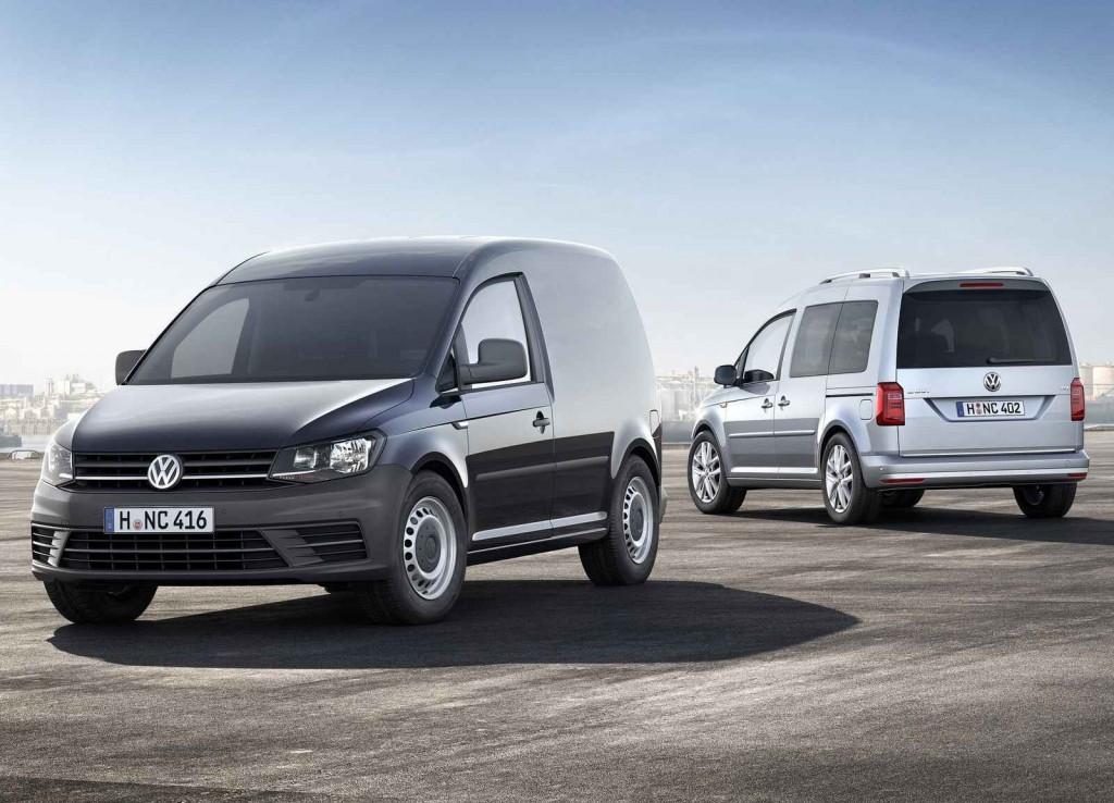 2016 Volkswagen Caddy Renk Seçenekleri