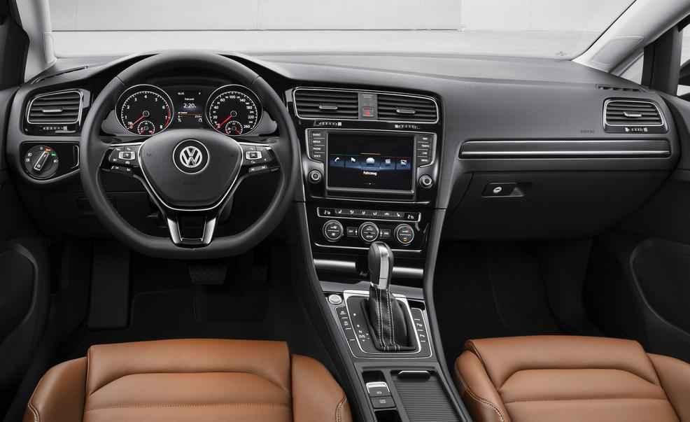 2016 Volkswagen Golf İç Tasarım ü