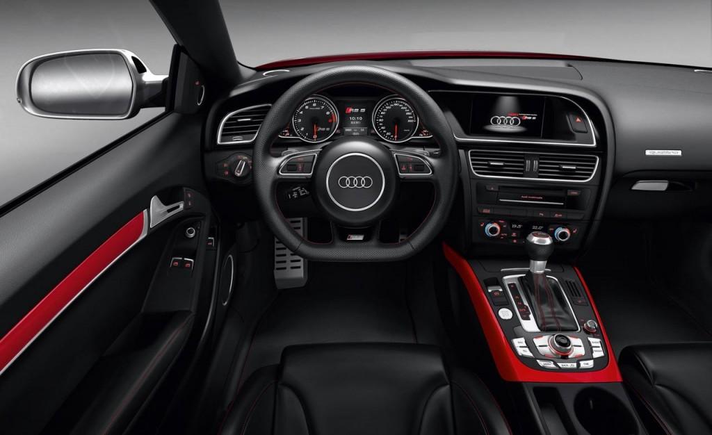 2016 Audi A5 İç Tasarım