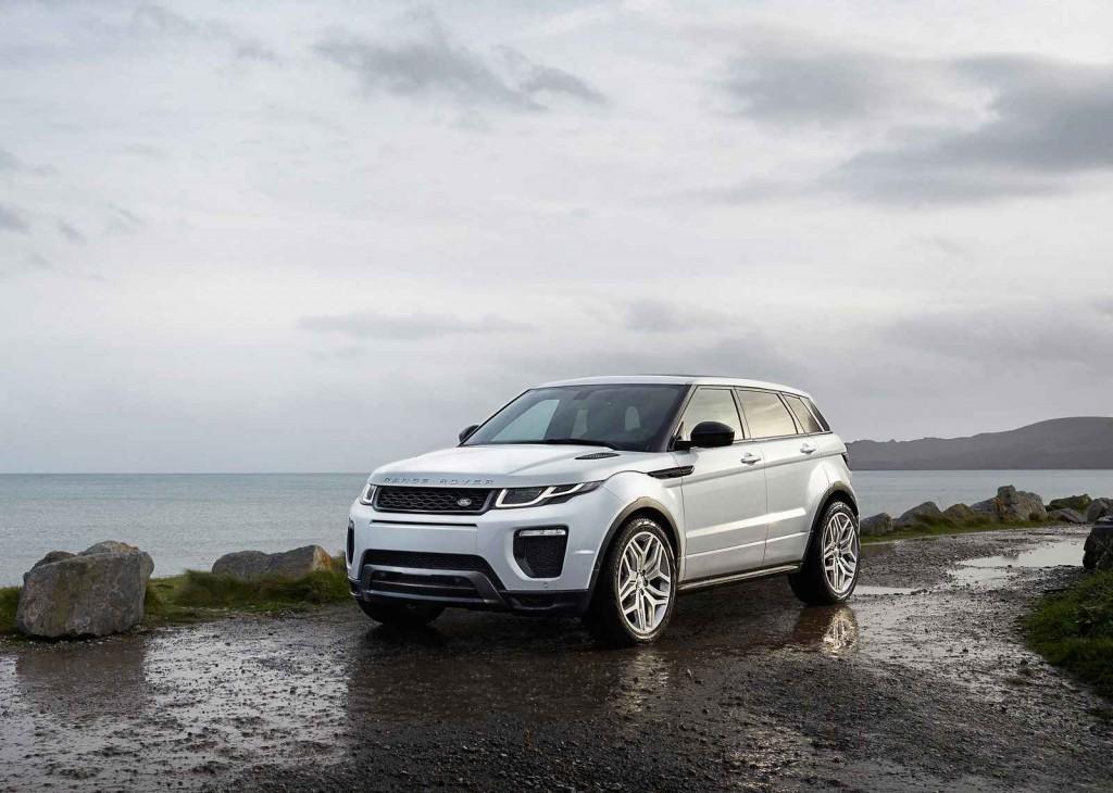 2016 Model Range Rover Evoque