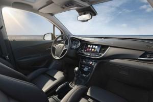 2016 Opel Mokka X İç Tasarım