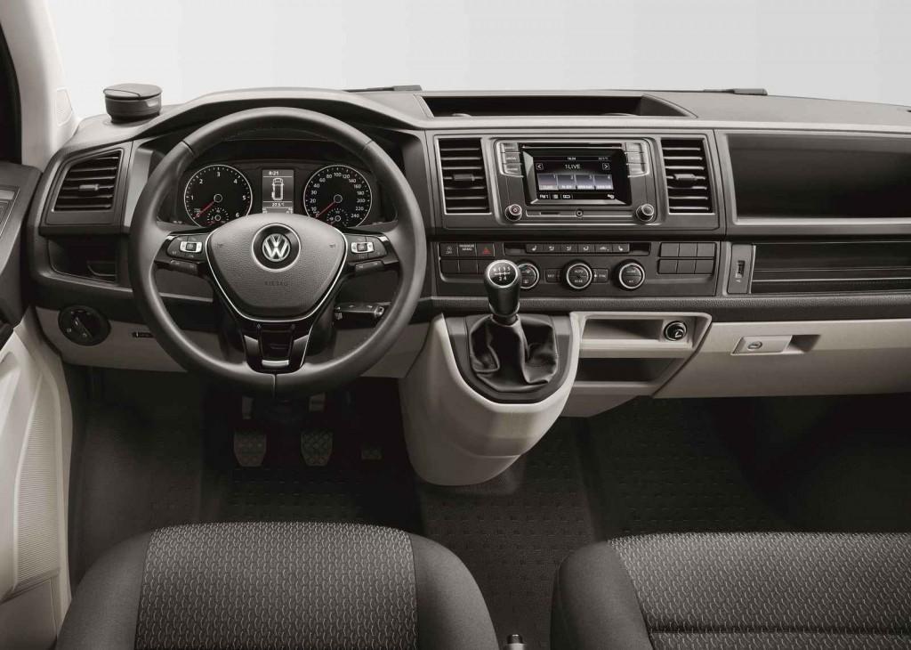 2016 Volkswagen Transporter Comfortline İç Tasarım