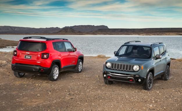2015 Jeep Renegade Renk Seçenekleri