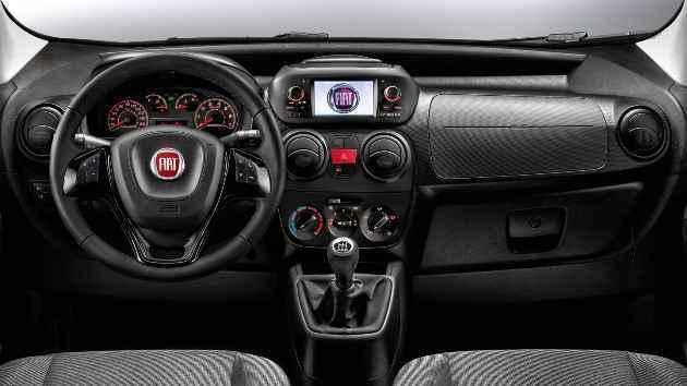 2016 Fiat Fiorino İç Tasarım