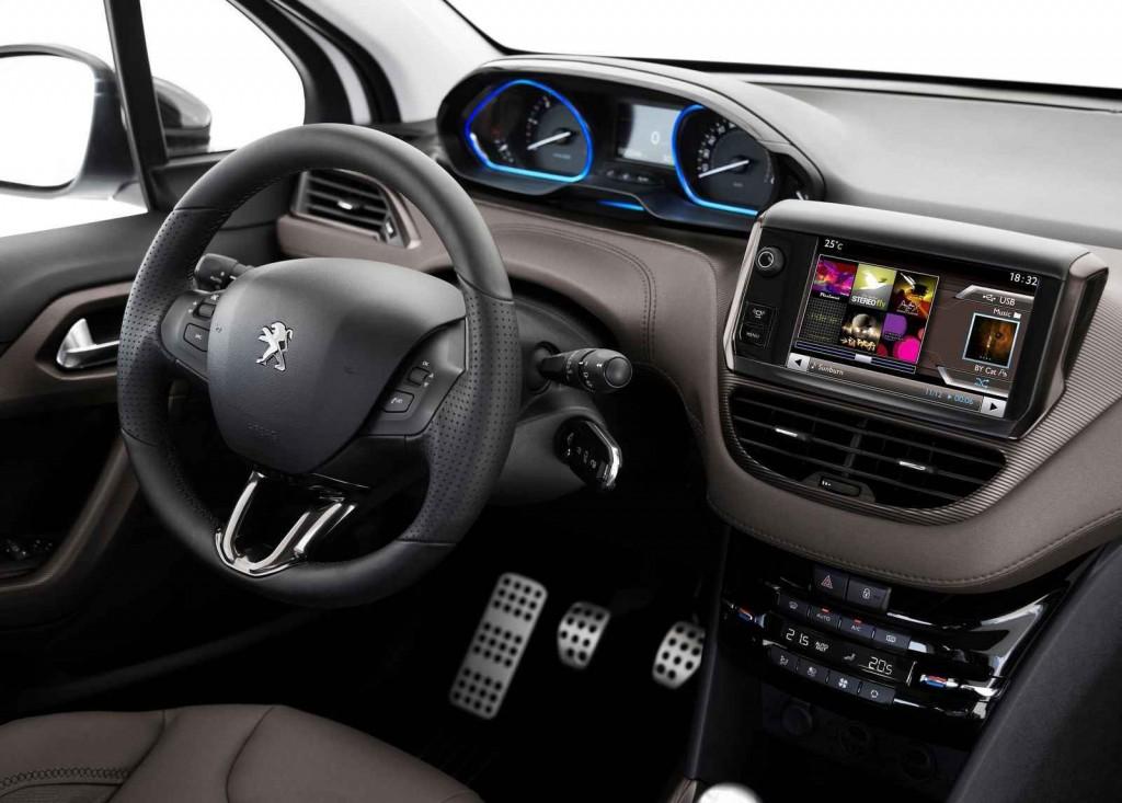 2016 Peugeot 2008 Crossover İç Tasarım