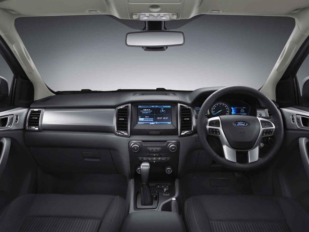 2016 Ford Ranger İç Tasarım