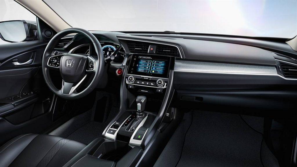 2016 Honda Civic Sedan İç Tasarım
