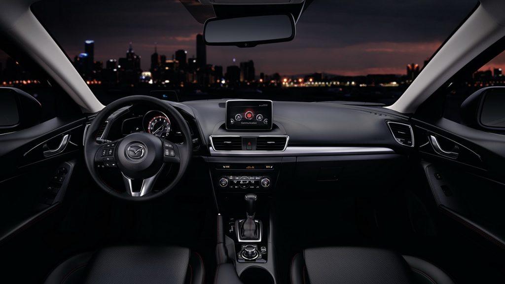 2016 Mazda 3 İç Tasarım