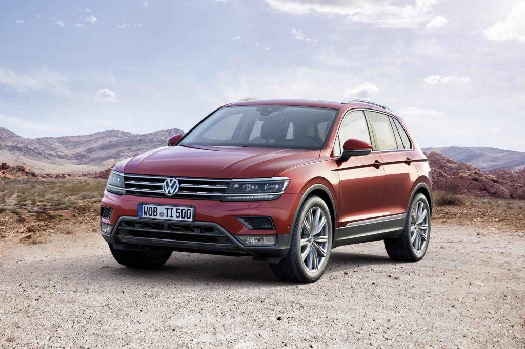 2016 Model Volkswagen Tiguan