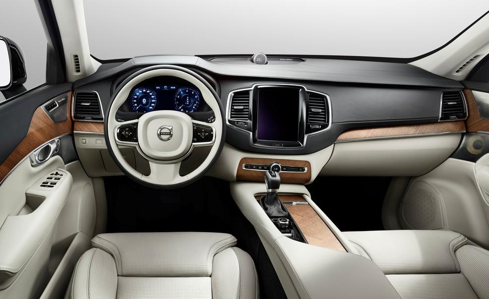 2016 Volvo XC90 İç Tasarım