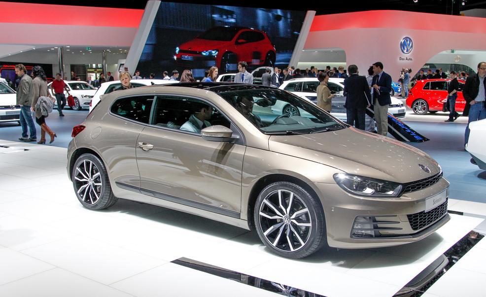 2015 Model Volkswagen Scirocco
