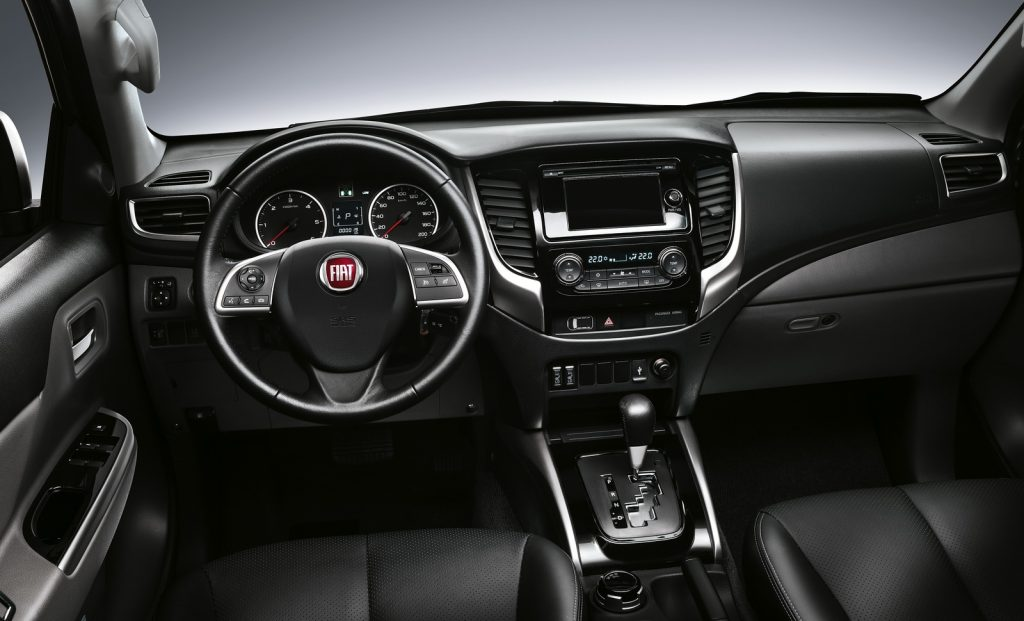2016 Fiat Fullback İç Tasarım
