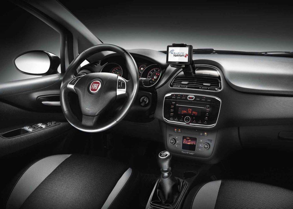 2016 Fiat Punto İç Tasarım