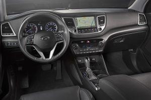 2016 Hyundai Tucson İç Tasarım