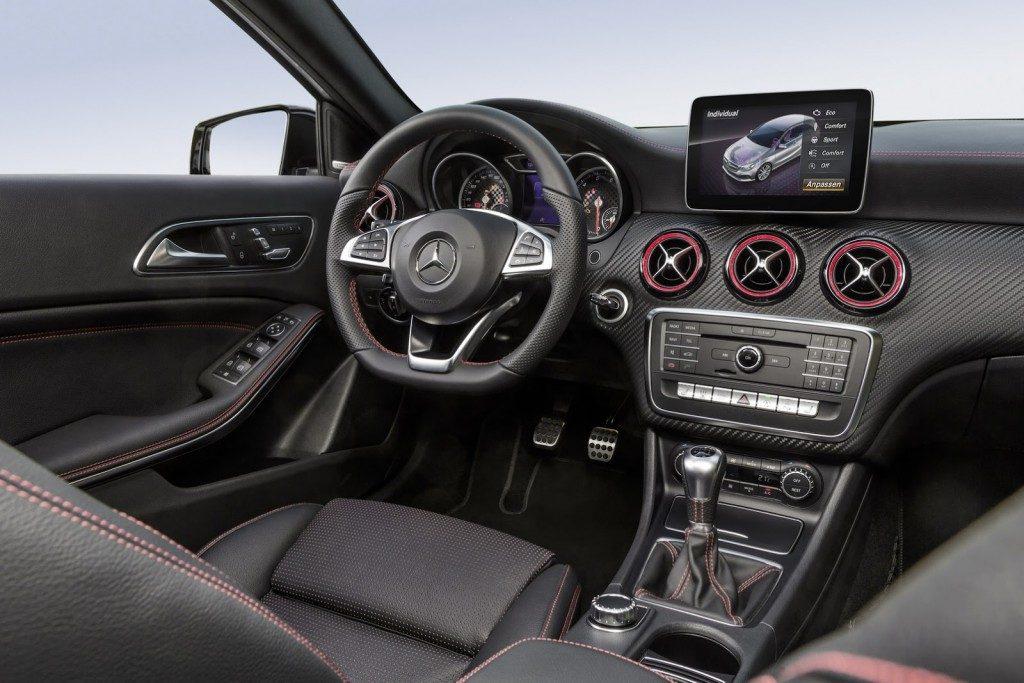 2016 Mercedes A180 İç Tasarım