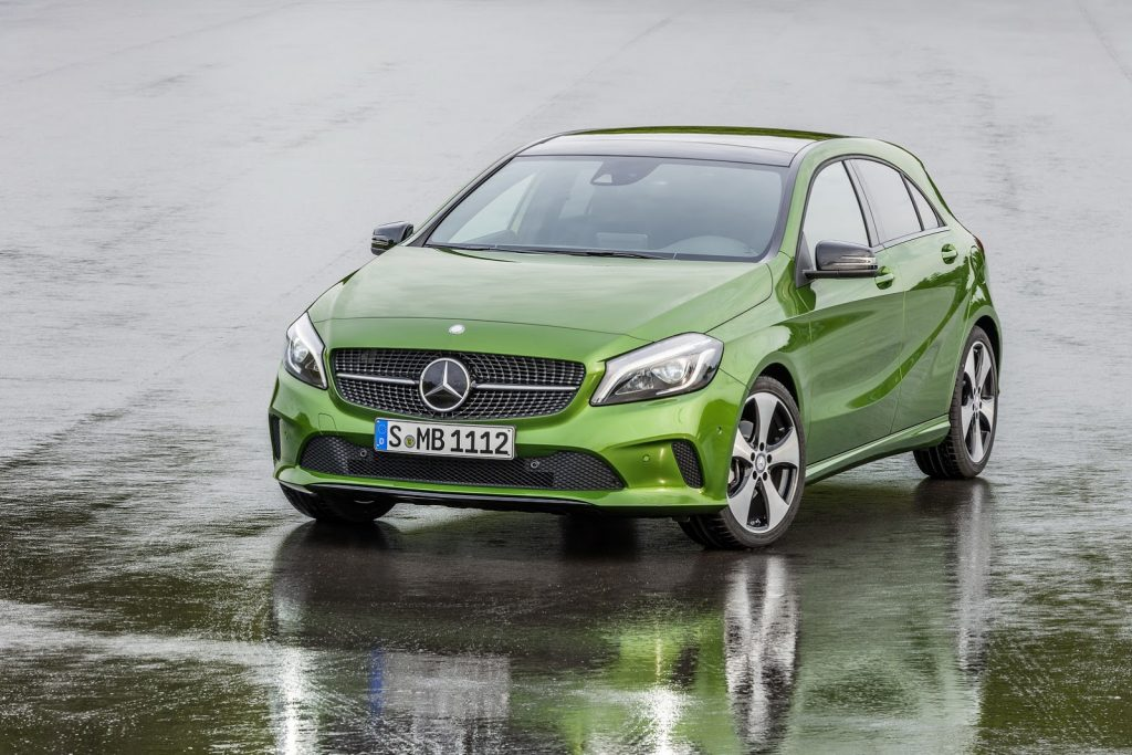 2016 Mercedes A180 Renk Seçenekleri