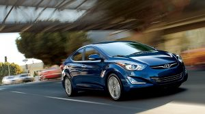 2016 Model Hyundai Accent Blue