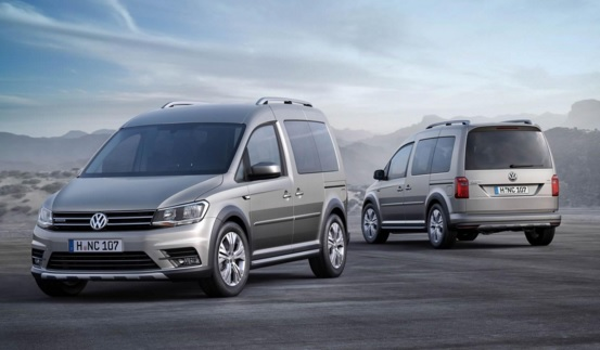 2016 Model Volkswagen Caddy