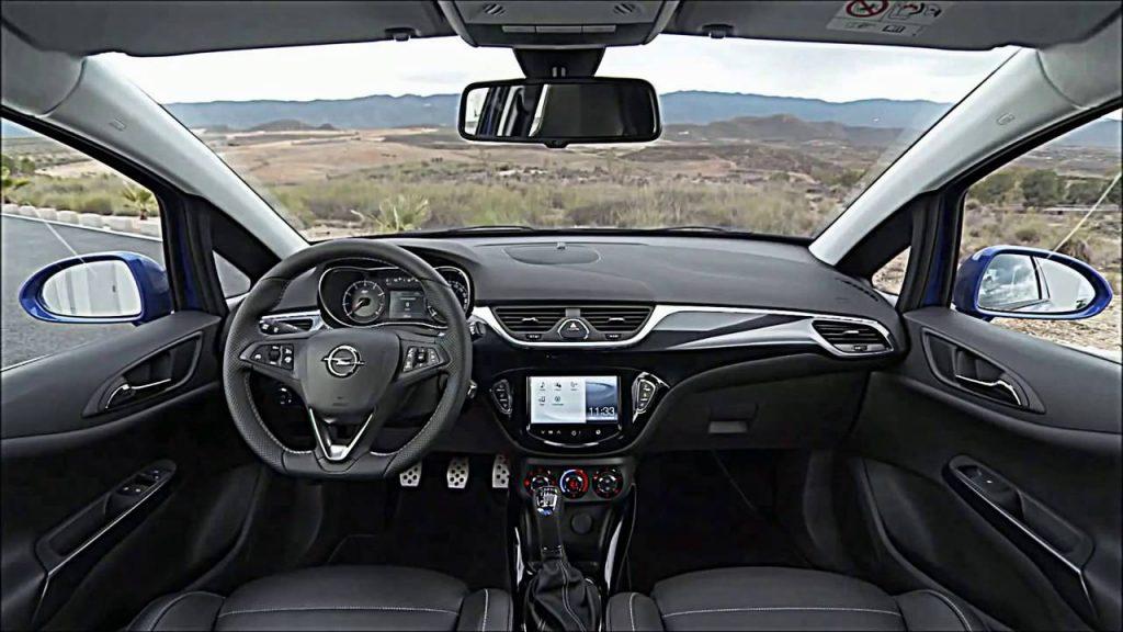 2016 Opel Corsa İç Tasarım