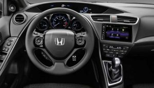 2016-Honda-Civic-Hatchback-Ön-Konsol